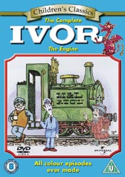 Ivor the Engine DVD Cover