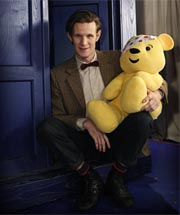 The Doctor and Pudsey Bear