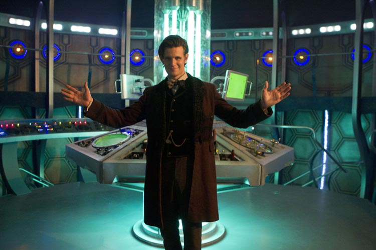 New TARDIS interior