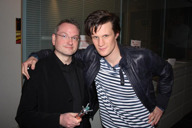 [Meeting the Eleventh Doctor]