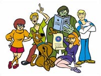 Scooby-Doo in 'The Guinness Book of Records'!