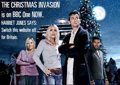 Doctor Who The Christmas Invasion.The Christmas Invasion